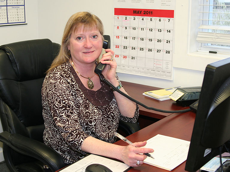 Sharon Hillman-Waters (Office Manager)